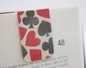 Poker Magnetic Bookmark, Laminated, Card Playing, Gambling, Vegas, Games, Ready To Ship