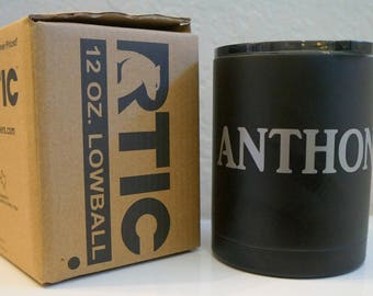 Tea Lover Personalized 12 oz. RTIC Lowball