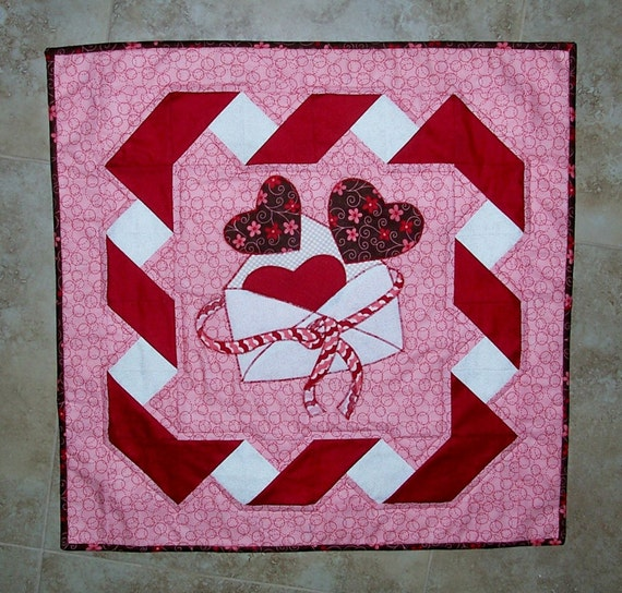 Be Mine Valentine Quilt Pattern From Quilts By Elena Wall