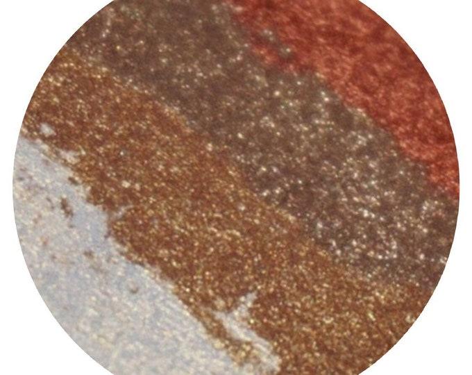 Steampunk - highlighter/bronzer/eyeshadow palette
