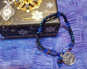 Vissen Zodiac rekbare armband