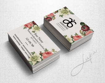 Arbonne Business Cards 22 - digital files supplied only