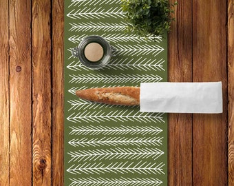 45 colors Woodland Table Runner, Rustic Table Runner Dining Room, Scandinavian Table Runner, Scandinavian Dining Room, Graphic Kitchen