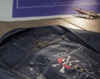 Flying Dutchman - Boys Pirate Denim Jacket