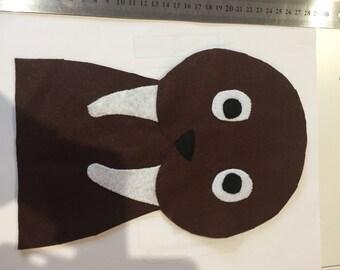 Morse hand puppet