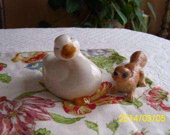 Ceramic Duck Figurine/Collectable/Decoration-Spring/Easter