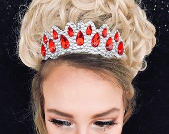 Tiara,crown, Irish Dance, made of rhinestones