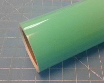 "Mint Oracal 651 12"" x 5' (5 feet) Roll * Sign Vinyl * Decal Vinyl"