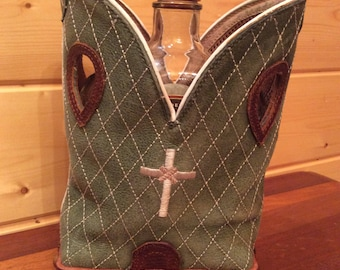 Rebooted Cowboy Boot Crown Royal Tote