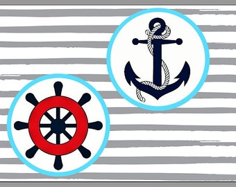 Nautical glossy photo print 5x7 picture