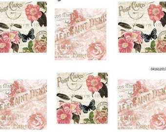VinTaGe FRenCh PoSTcaRdS ShaBby DeCALs