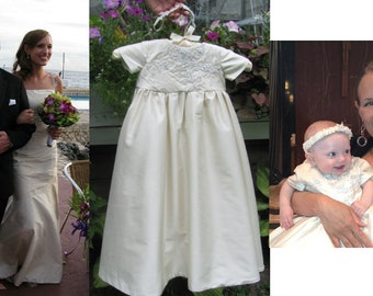 Wedding Dress to Christening or Baptism Gown Conversion - CUSTOM ORDER