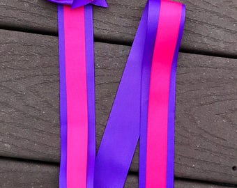 hair bow hanger pink and purple hair bow holder bow holder pink and purple hair clip holder