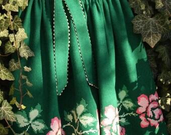 Green Forest Skirt