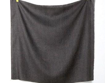 Nani Iro Japanese Fabric Kokka Camino Linen - Charcoal C - 50cm