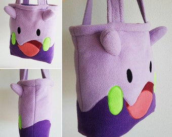 Süße lila Totebag Pokemon Goomy