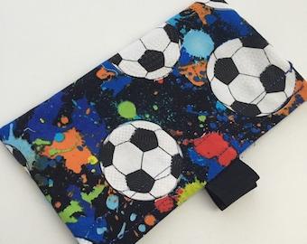Soccer Reusable Snack Bag
