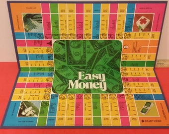 Vintage Milton Bradley Easy Money Game, 1974