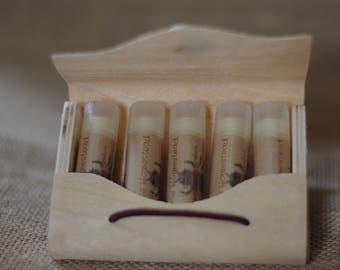 Organic Lip Balm Set || Pick Any 5 || Organic Lip Balm || Lip Balm