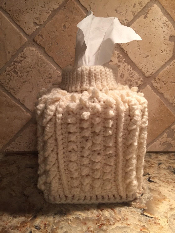 Gestrickt Tissue Box Cover