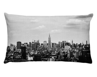 New York City skyline Throw Pillow, 1:100 Limited Edition // cushion // home decor // modern // classy // print