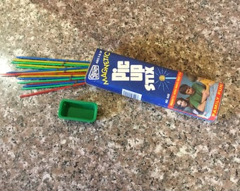 Vintage 1980 Magnetic Pickup Sticks from Stevens Toys  . . .