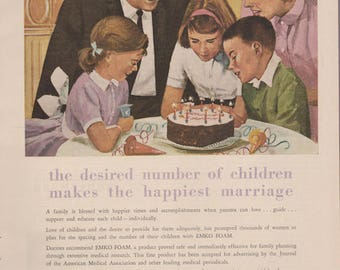 Early 60s Contraceptive Ad