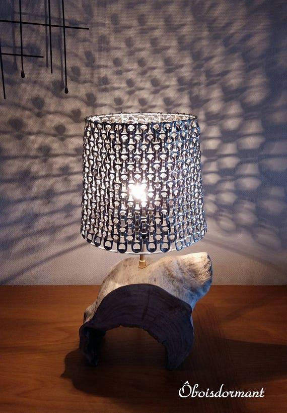 lampes de chevet en bois flott au choix. Black Bedroom Furniture Sets. Home Design Ideas
