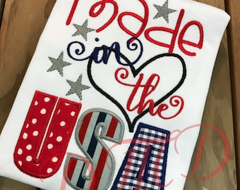 Made In The USA, 4th of July, celebrstiong america