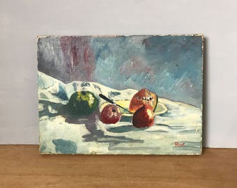 FRENCH VINTAGE PAINTING / Jean-Claude Pénet / Original painting / Acrylic or oil on canvas / Signed / Art / Painting on canvas / Artwork