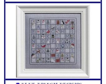 Winter Wingding (BRD-061) Cross Stitch Design