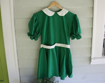 Kelly Green Girls' Dress/Costume