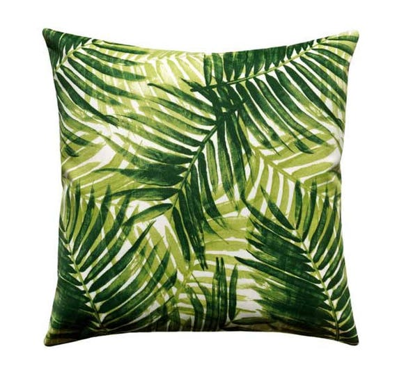 Palm Leaf Outdoor Pillow Cover Tommy Bahama Pillow Cushion