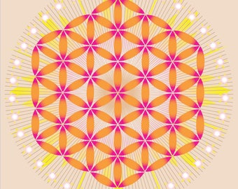 Crystal grid - N