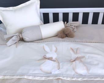 baby bending rabbit