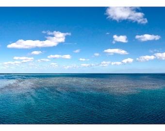Great Barrier Reef, Australia, Cairns, Coral, Coral Reef, Ocean, Seascape, Landscape, Photography, Digital Art, Instant Downloads