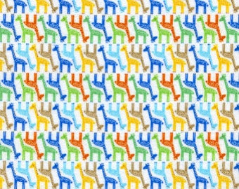 40% OFF SALE!  Tiny Giraffes by Timeless Treasures
