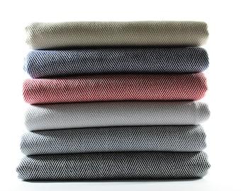 Herringbone Blanket | Throw Blanket | Sofa Throw | Turkish Blanket | Turkish Towel | Bath Towel | Beach Blanket | Wedding Gift | Herringbone