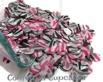 Tissue Paper Confetti, zebra confetti, balloon confetti, envelope confetti, circle confetti, wedding confetti, party confetti, zebra dot