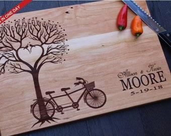 Engraved Board, Cutting Board, Wood Cutting Board, Wedding Present, Personalized Cutting Board, Wedding Gift, Custom Board, Cheese Board