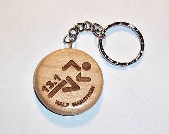 13.1 - Half Marathon Keychain