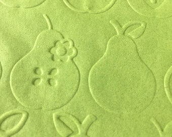 Embossed Napkins - Perfect Pear