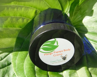 Papaya Body Cream,Mango butter,body butter,vegan skincare,lotion