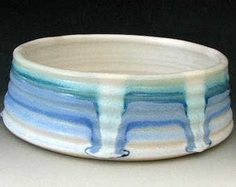 LARGE DOG BOWL #31 - Large Dog Dish - Ceramic Dog Bowl - Ceramic Dog Dish - Dog Food Bowl - Ceramic Water Bowl - Stoneware Dog Bowl
