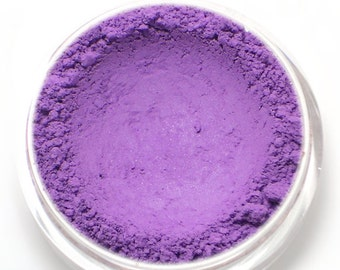 """Matte Violet Purple Eyeshadow - """"Wildflower"""" - Vegan Mineral Makeup"""