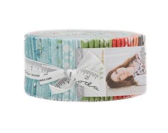 Nest Jelly Roll By Lella Boutique for Moda Fabrics, SKU# 5060JR