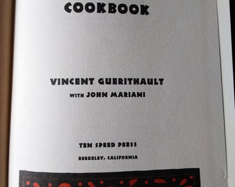 Vincent's Cookbook by Vincent Guerithault