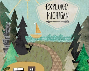 Explore Michigan Camper Outdoors