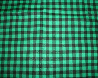 Free Shipping! on Green Plaid  Sofa Pillow Covers, Holiday Decor, Accent Pillow Covers, Home Decor, Seasonal Decor, St Patty's Decor,