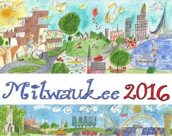 Milwaukee 2016 Calendar